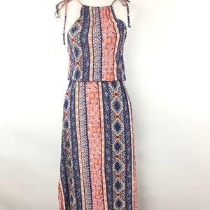 Lulu's blouson Maxi Dress size XS